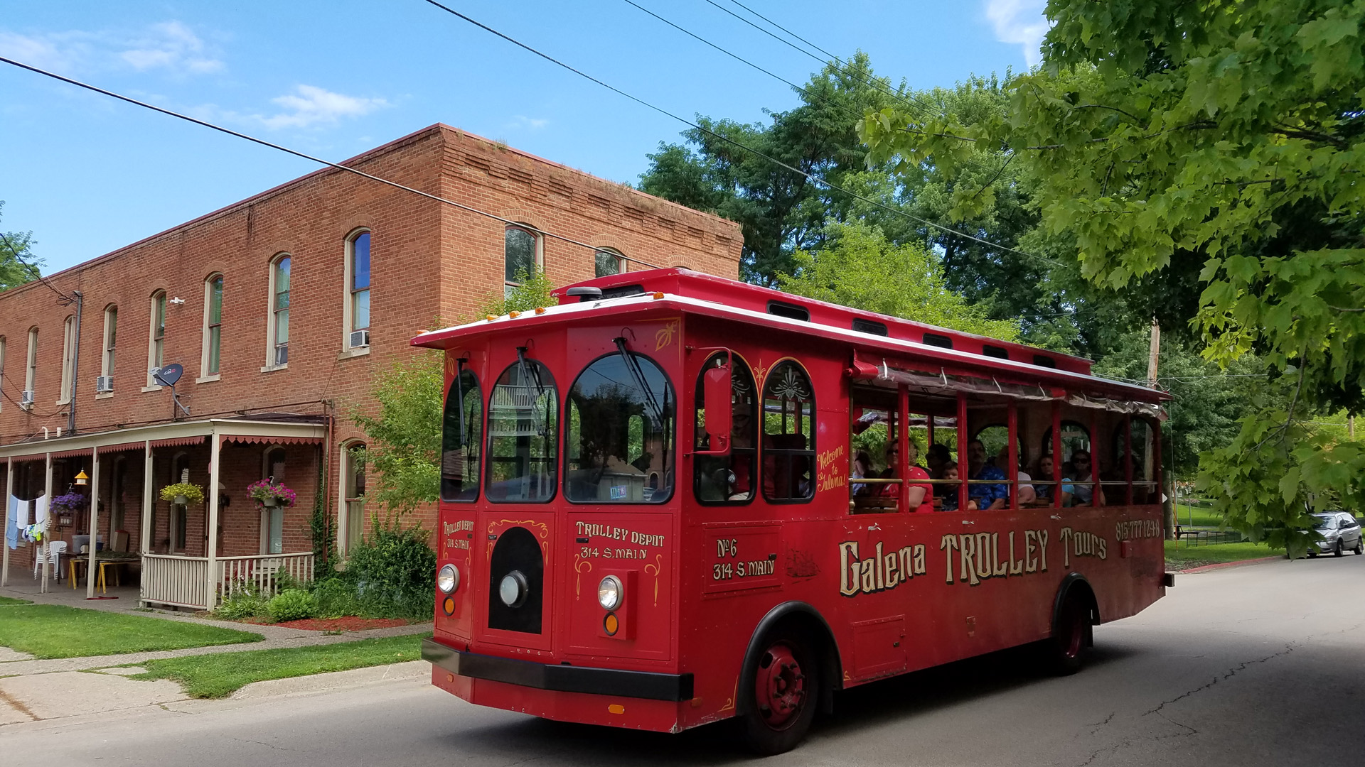 Galena Trolley Tours Enjoy Illinois