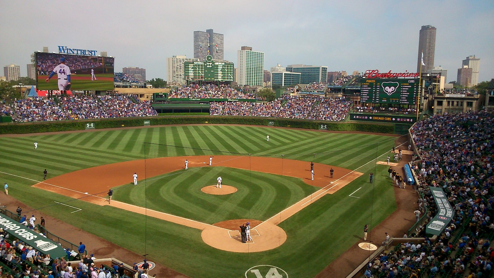 Chicago Cubs At Wrigley Field Enjoy Illinois