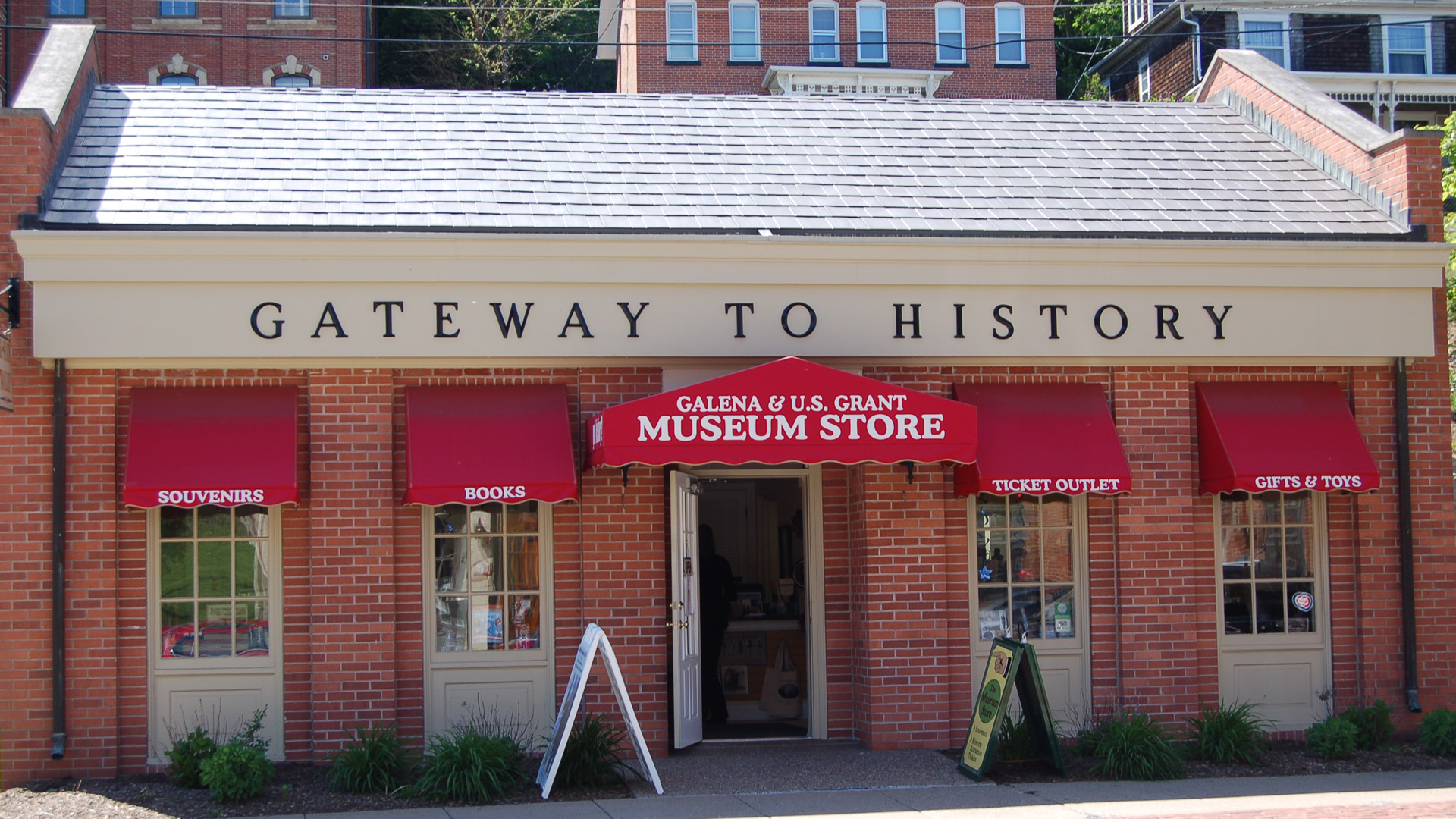 Gateway To History Galena And U S Grant Museum Store