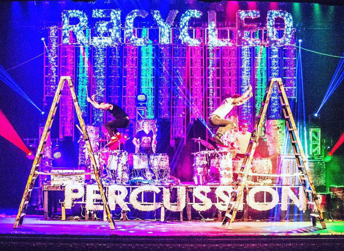 Recycled Percussion live at the Egyptian Theatre   Enjoy ...