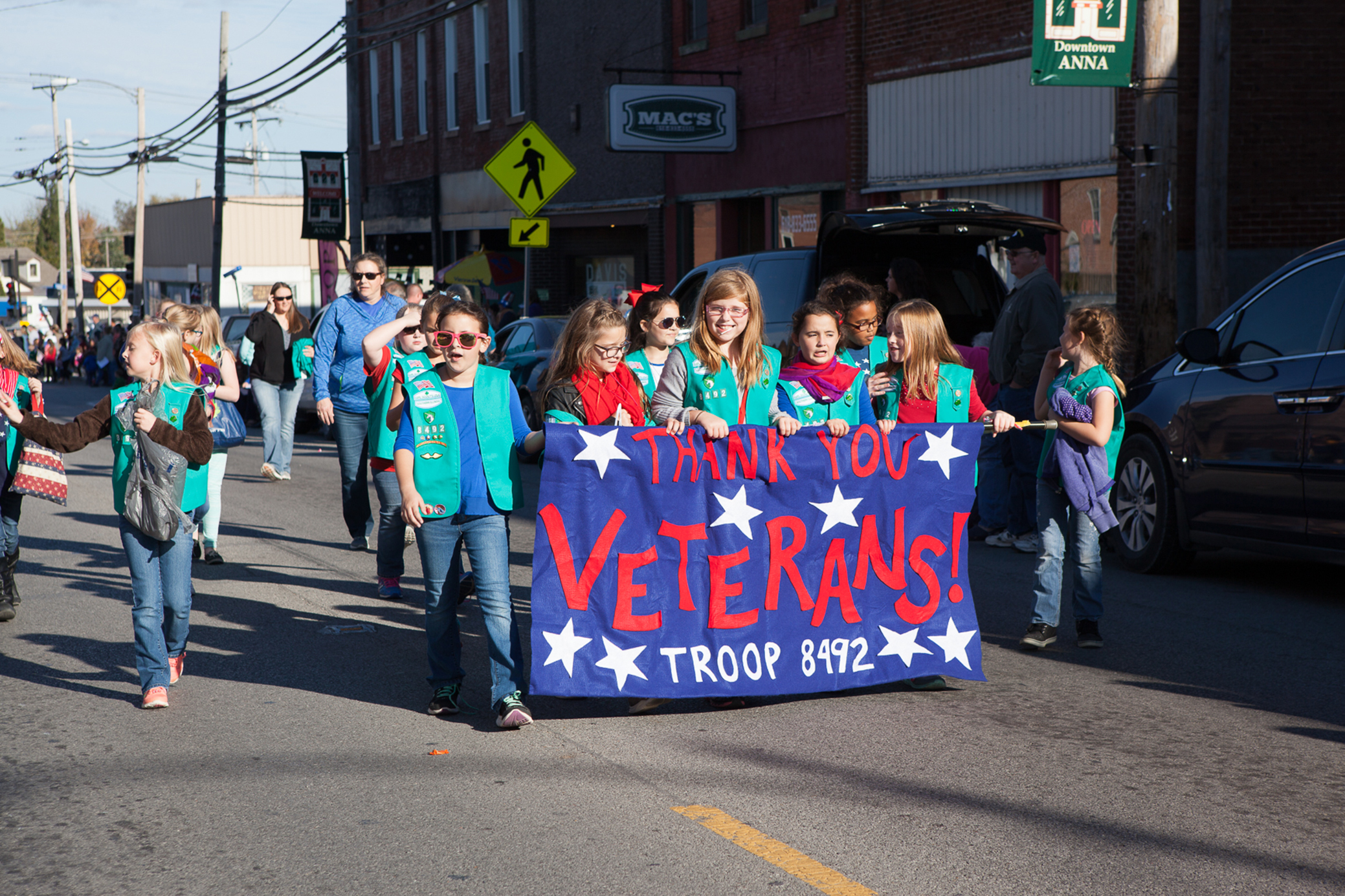 Image result for veterans day parade anna il
