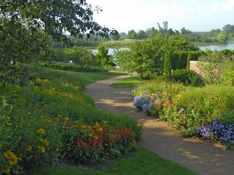 Chicago botanic garden enjoy illinois for What time does the botanical gardens close