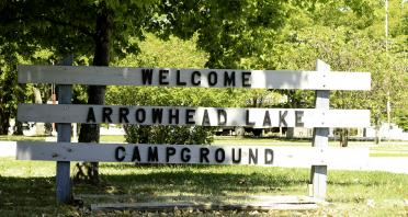 Arrowhead Lake and Campground in Johnston City, IL