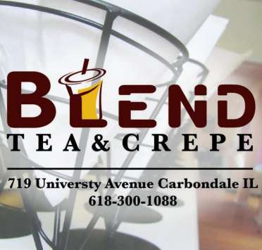 Blend Tea and Crepe Lounge in Carbondale, IL
