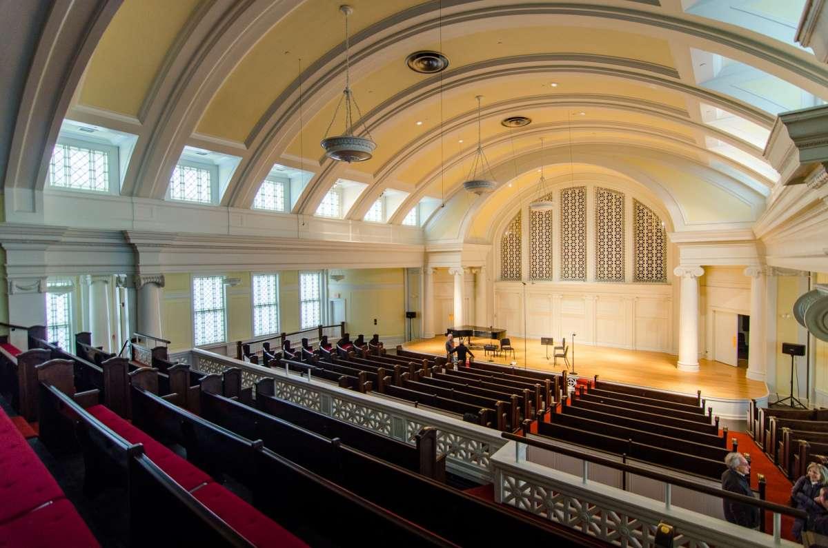 Music Institute Of Chicago Nichols Concert Hall Enjoy