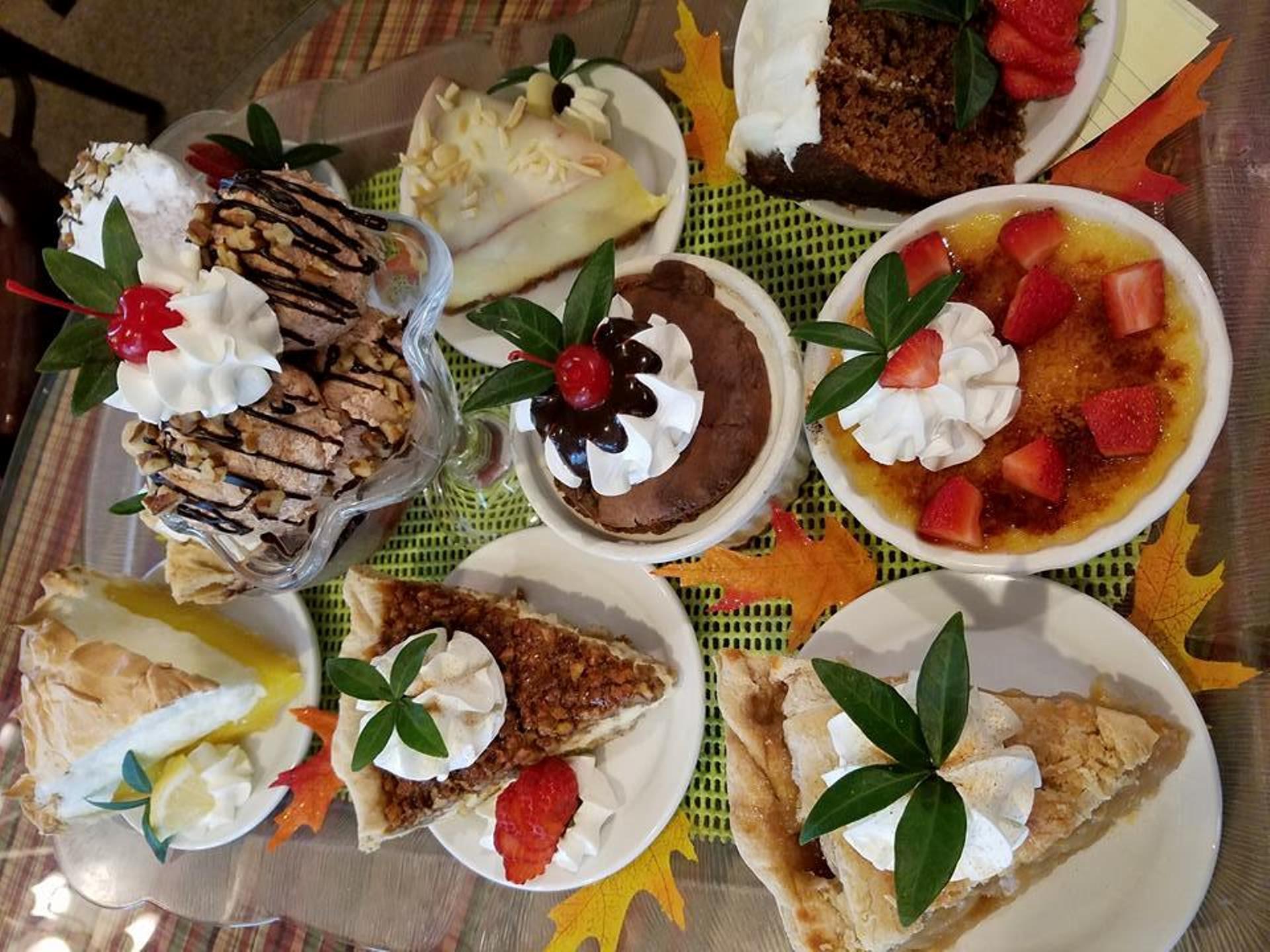 Josephine S Tea Room Desserts