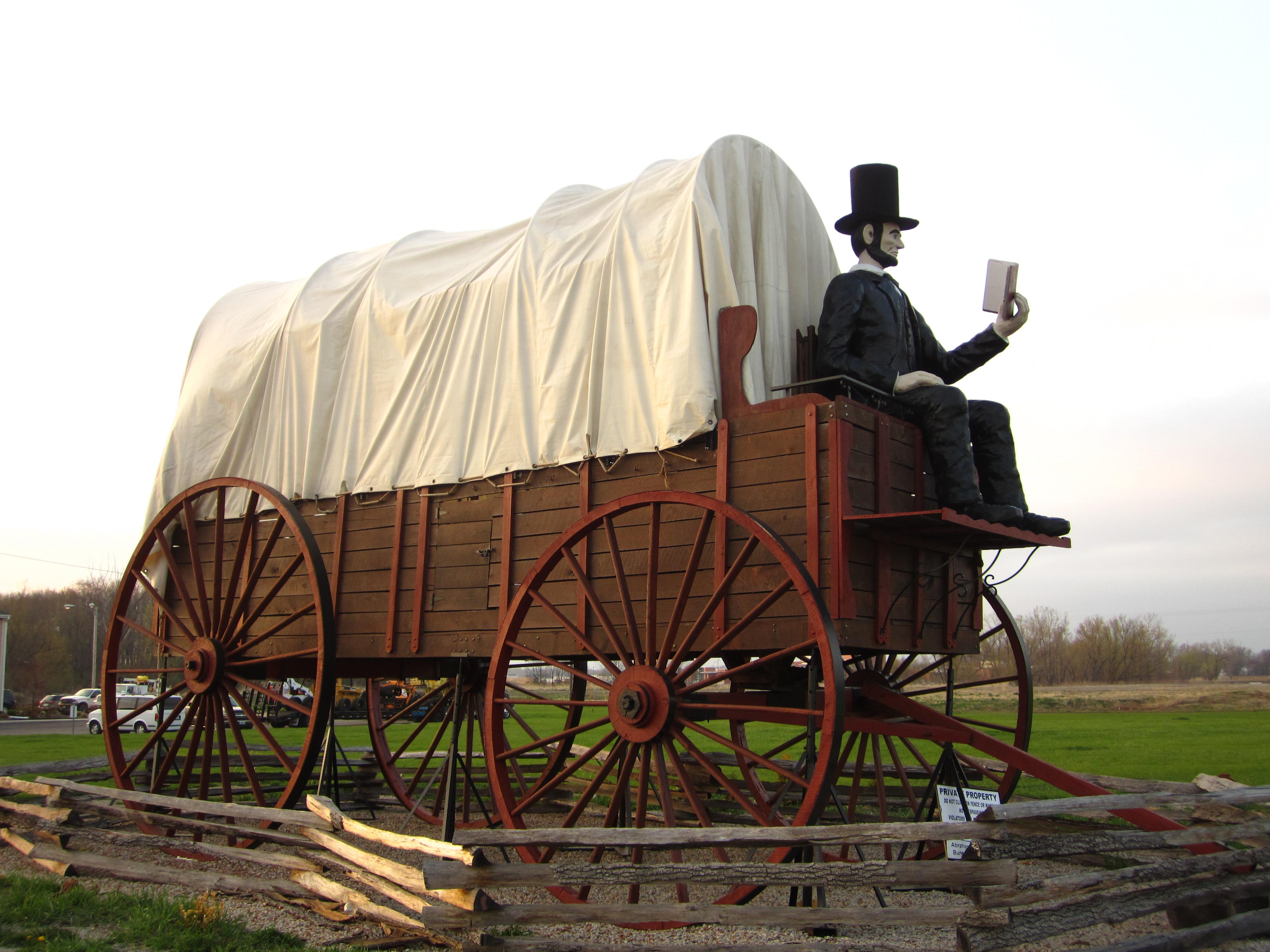 World S Largest Covered Wagon Enjoy Illinois