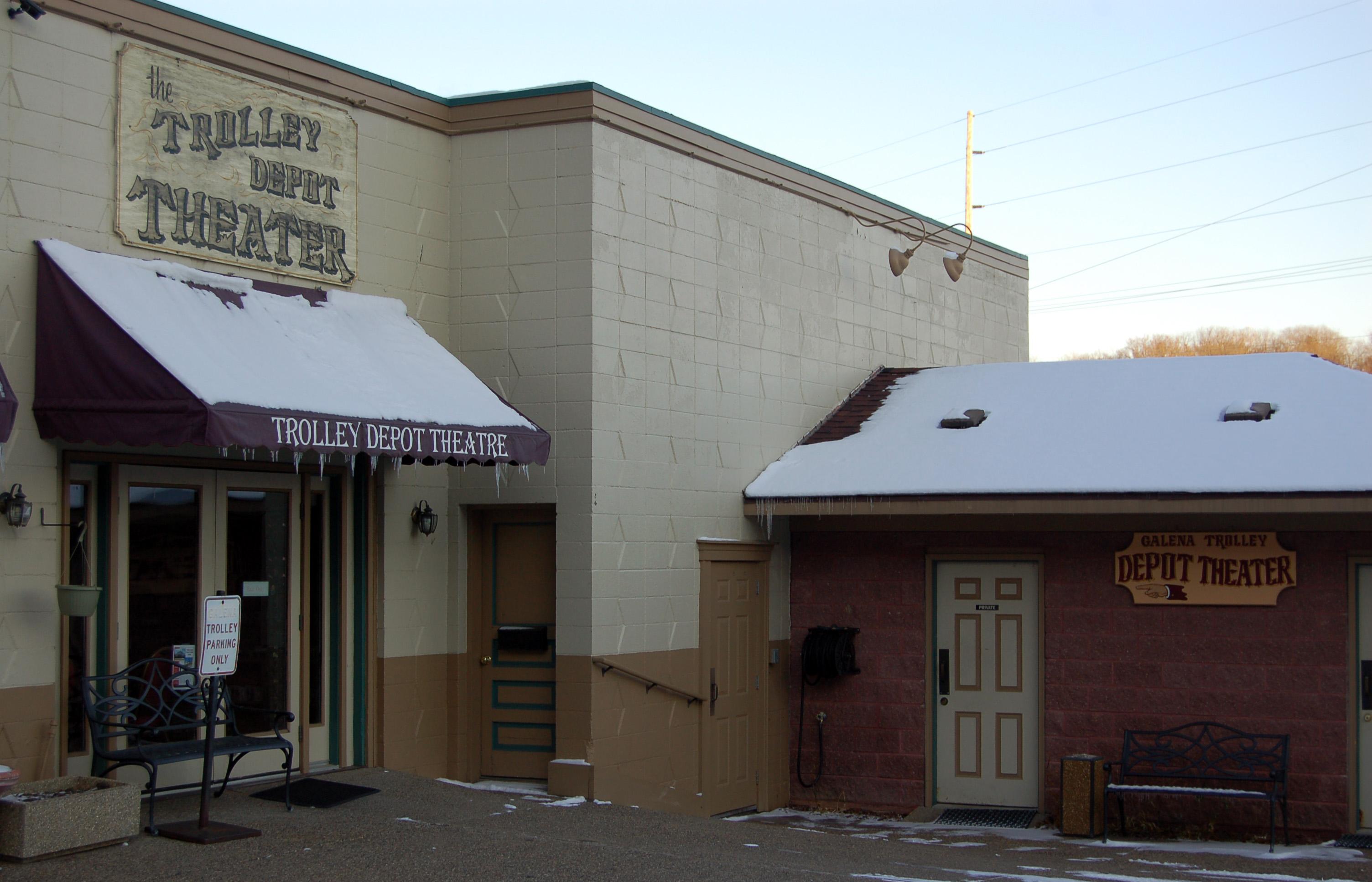 Galena Trolley Depot Theater Enjoy Illinois