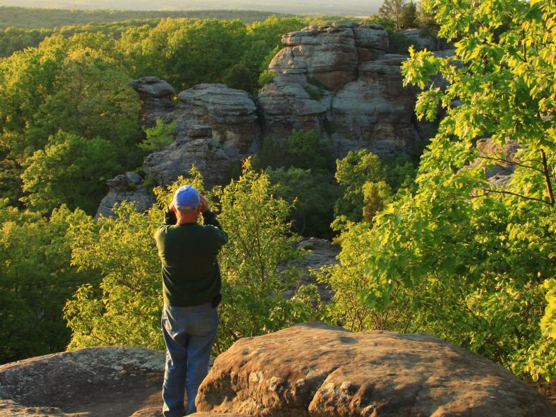 Rock Climbing in Illinois