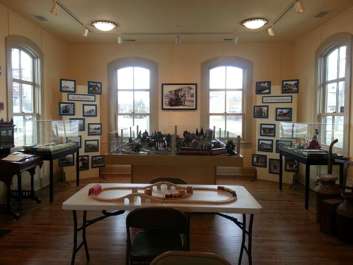Itasca Historical Depot Museum Enjoy Illinois