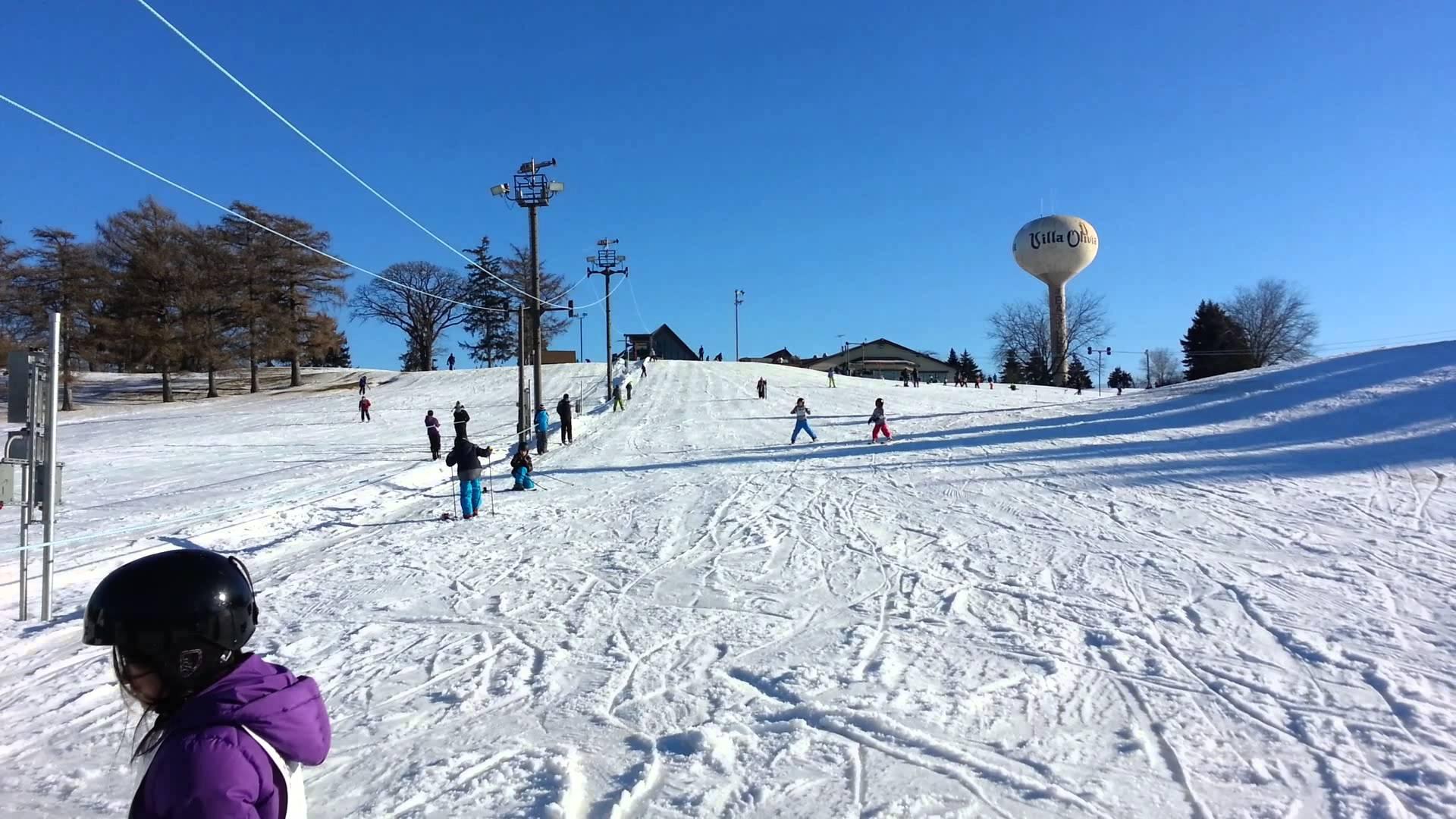 villa olivia country club ski area | enjoy illinois
