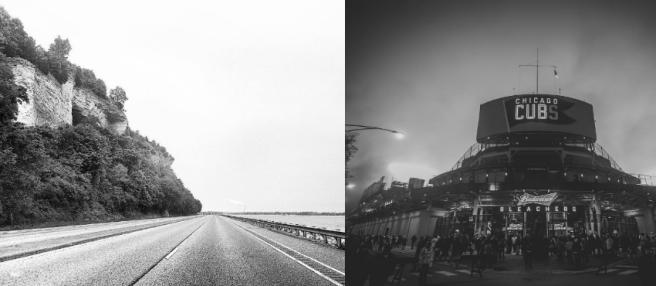 Instagram challenge black and white illinois