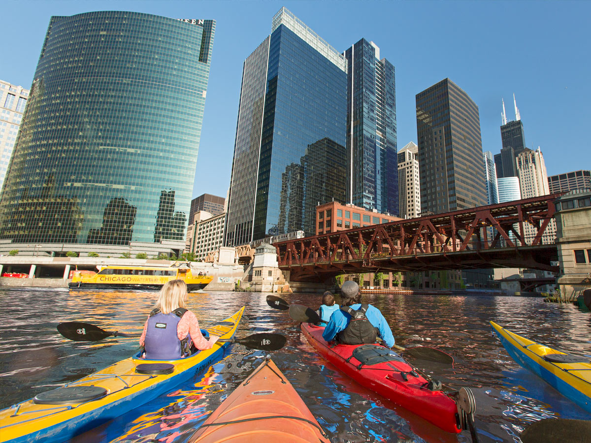 City By Design - Chicago kayak map