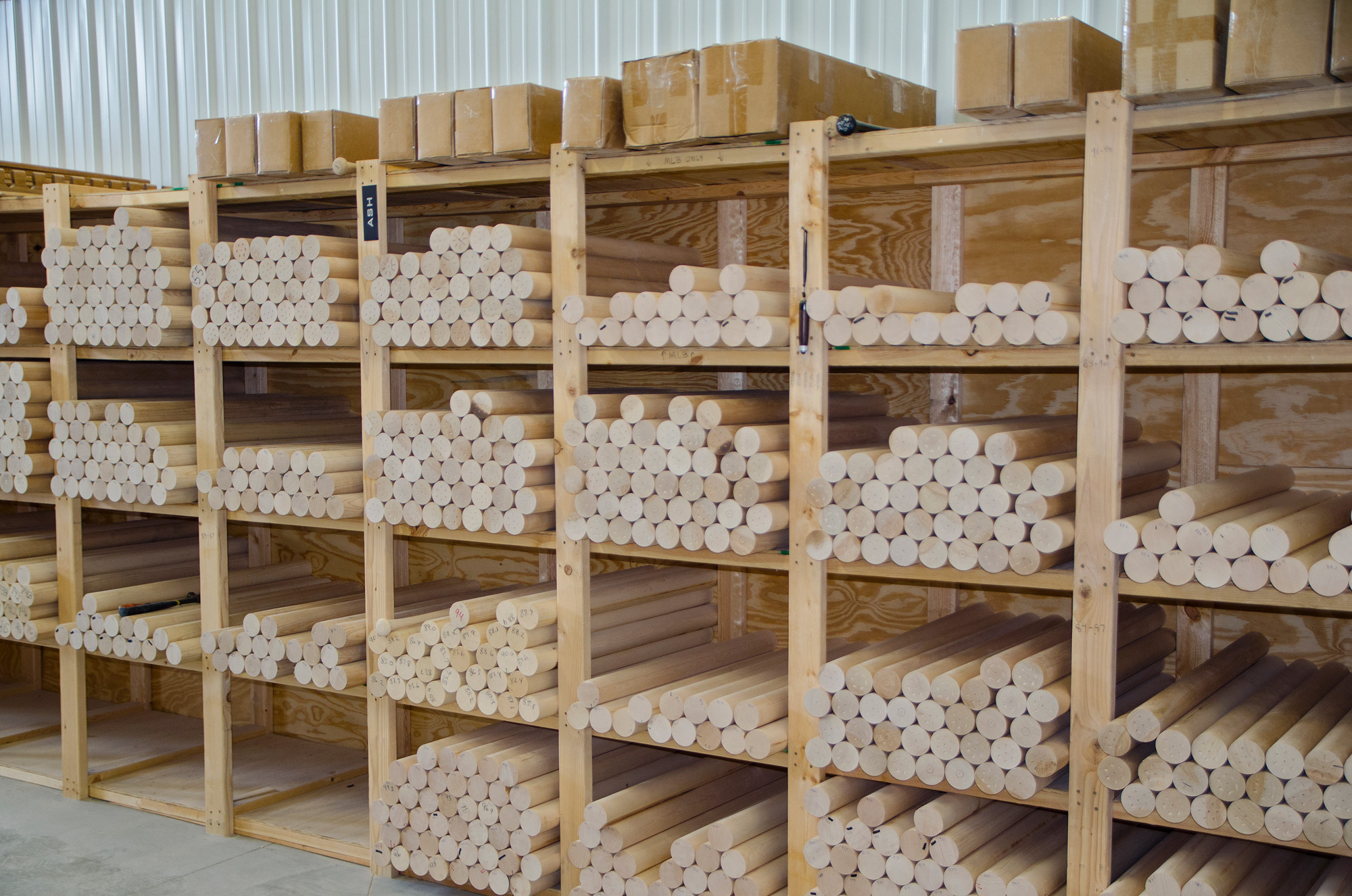 Rows Of High Quality Stock Will Soon Be Turned To Bats
