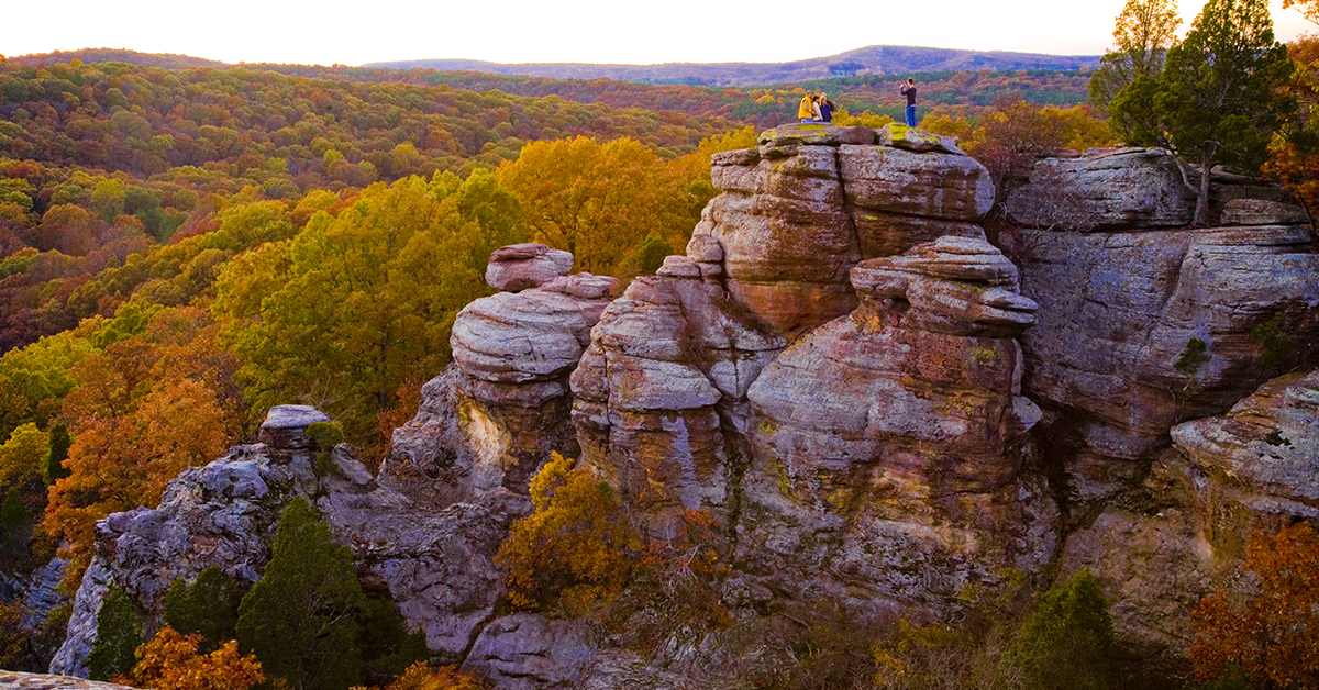 Jewels in the Crown of the Beautiful Shawnee National Forest
