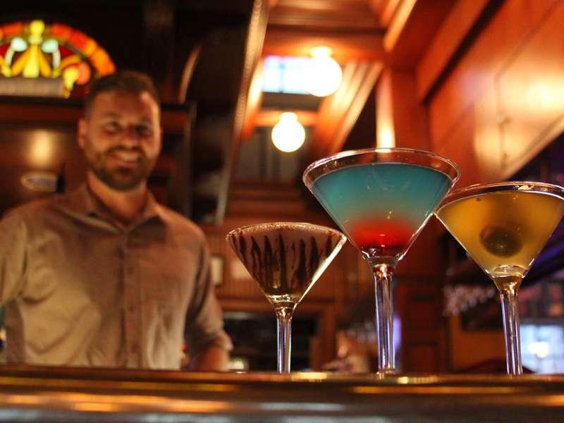 Martinis on Water Street