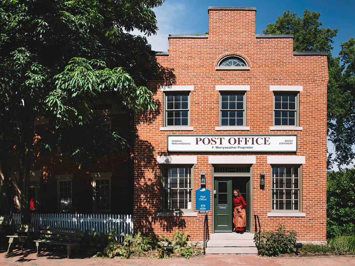 The Post Office Is One Of Historic Sites In Nauvoo Illinois