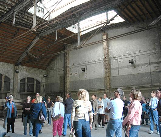 Pullman Factory Interior Tour