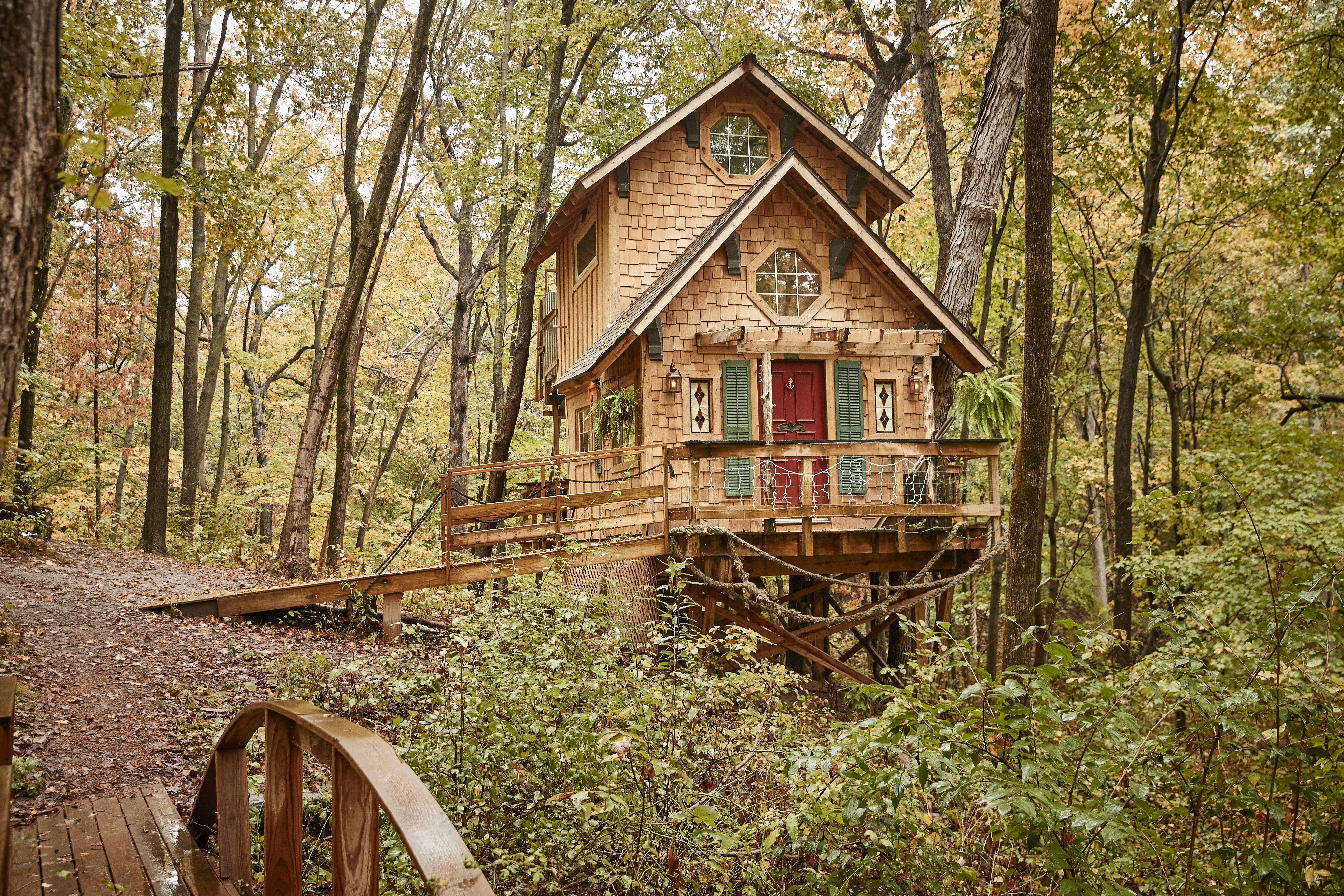 Quirky Places to Stay in Illinois