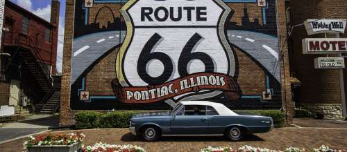Get Your Kicks on Illinois Route 66
