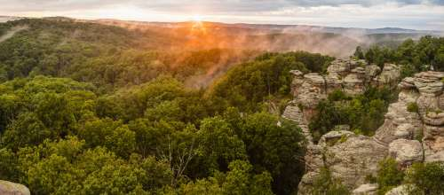 Share Illinois State Parks National Forest