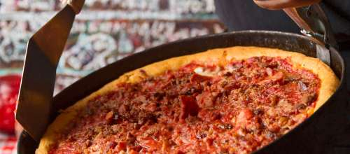 Dishing on Chicago-Style Pizza