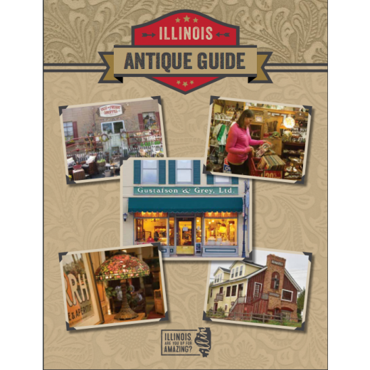 Cover of the Illinois Antique Guide