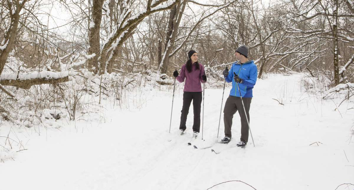 Cross Country Skiing In Illinois