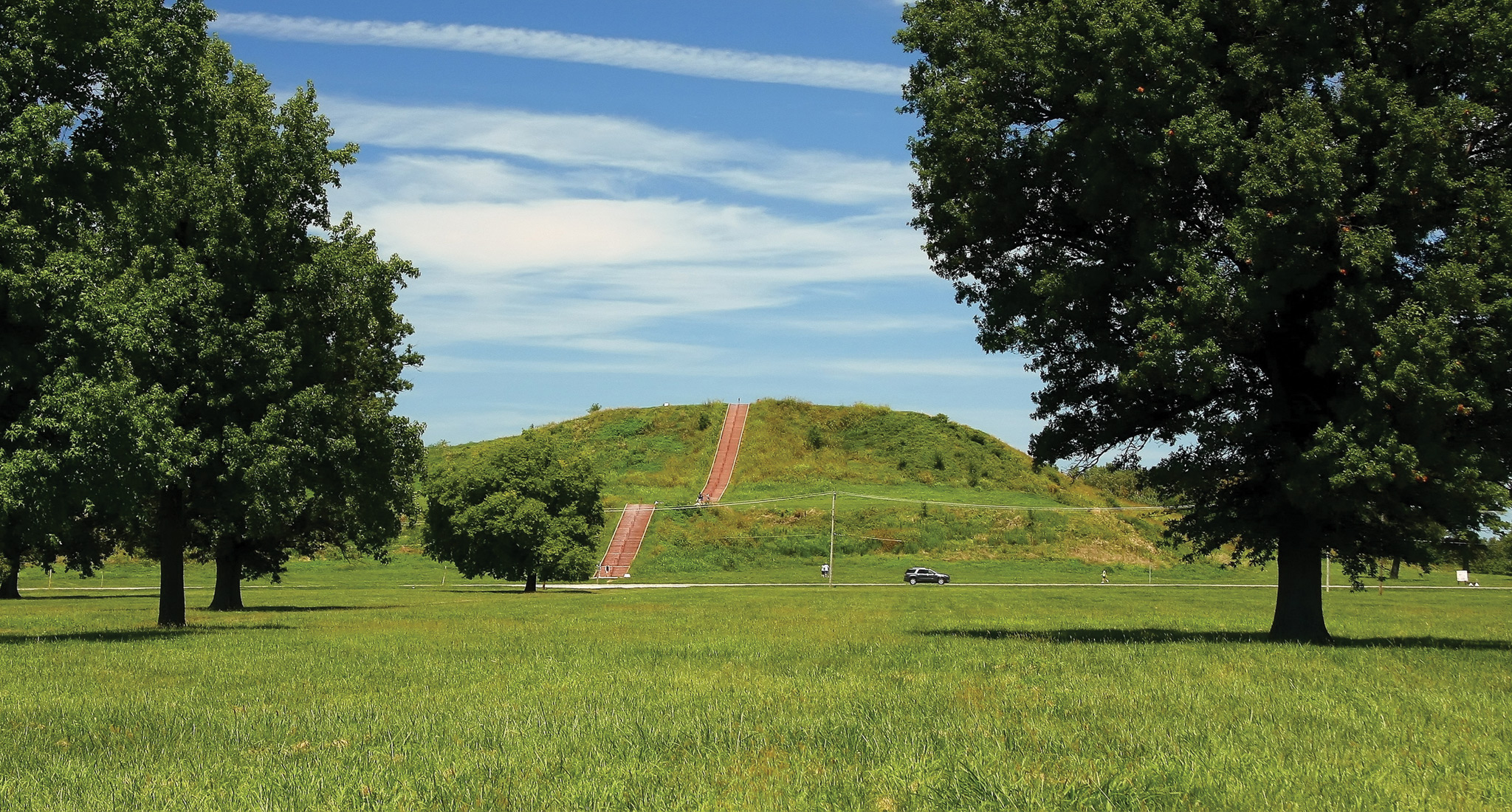 the cahokia mounds Cahokia was the largest and most influential city of the mound-building  mississippian culture analysis of teeth from 87 ancient cahokians.